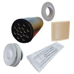 Приточный вентиль VELCO для домов с повышенным уровнем шума с бежевой вент. решеткой (801010+793331)