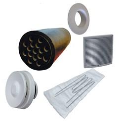 Приточный вентиль VELCO для домов с повышенным уровнем шума с серой вент. решеткой (801010+793337)