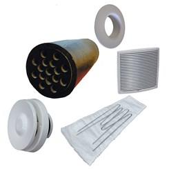 Приточный вентиль VELCO для домов с повыш. уровнем шума со св.-серой вент. решеткой (801010+793333)