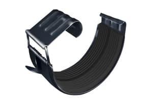 Соединитель желоба GL 150 мм RAL 7024 мокрый асфальт