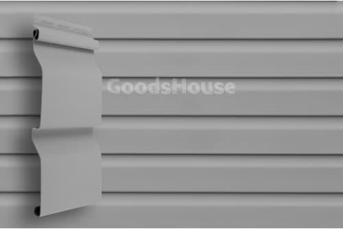 Сайдинг 3,0 Grand Line D4 (slim) серый