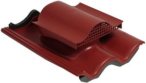 Tiili KTV кровельный вентиль без адаптера красный