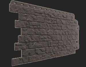 Фасадные панели Деке / Docke Edel (под камень), цвет корунд 1007х425 мм