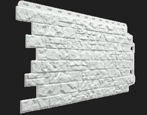 Фасадные панели Деке / Docke Edel (под камень), цвет циркон, 1007х425 мм