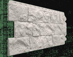 Фасадные панели Деке / Docke Fels (под скальную породу), цвет арктик, 1150х450 мм