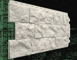 Фасадные панели Деке / Docke Fels (под скальную породу), цвет горный хрусталь, 1150х450 мм