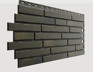 Фасадные панели Деке / Docke Klinker (под ригельный кирпич), цвет атакама, 1103х432 мм