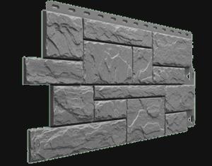 Фасадные панели Деке / Docke Slate (под сланец), цвет валь-гардена, 1052х432 мм