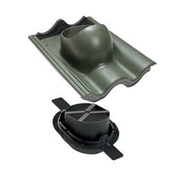 TIILI 2K проходной элемент зеленый