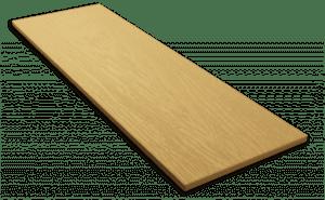 Фиброцементный сайдинг Decover / Дековер, размер 3600х190 мм, цвет Cream (Ral 1001 бежевый)