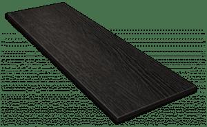 Фиброцементный сайдинг Decover / Дековер, размер 3600х190 мм, цвет Dark (Ral 9004 сигнально-черный)