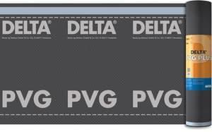 Трёхслойная водонепроницаемая плёнка с ограниченной диффузией DELTA PVG PLUS