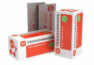 Экструзионный пенополистирол XPS CARBON ECO 400 SP Технониколь 28 кг/м3, размер 100х580х2360 мм, упаковка 0.548 м3 (4 плиты)
