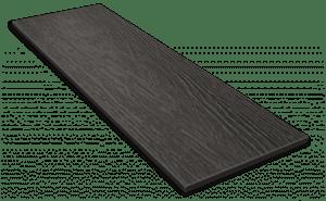 Фиброцементный сайдинг Decover / Дековер, размер 3600х190 мм, цвет Gray (Ral 7024 мокрый асфальт)