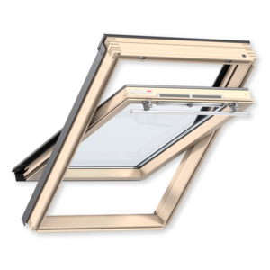 Мансардное окно Velux (Велюкс), WoodLine, Стандарт, GZR 3050, Ручка сверху, 94x140 (PR08)