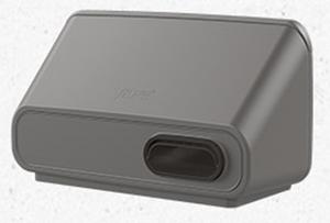 IO 125 настенный приточно-вытяжной элемент для систем с рекуперацией тепла серый