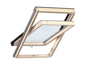 Мансардное окно Velux (Велюкс), WoodLine, Стандарт+, GZR 3061B, Ручка снизу, 94x118 (PR06)