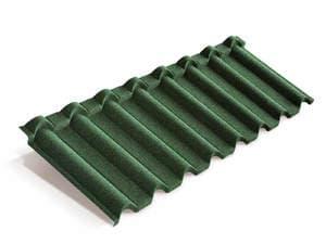 Композитная черепица Metrotile Gallo Зелёный