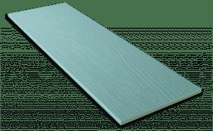 Фиброцементный сайдинг Decover / Дековер, размер 3600х190 мм, цвет Mystic (Ral 5024 пастельно-синий)