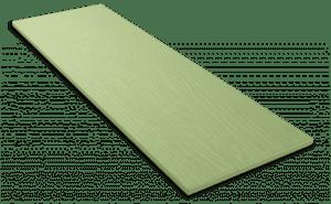Фиброцементный сайдинг Decover / Дековер, размер 3600х190 мм, цвет Oliver (Ral 6019 бело-зеленый)