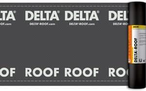 Прочный и водонепроницаемый подкладочный ковёр DELTA-ROOF