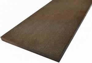 Подступенок Экодек / Дарволекс, 147х13х4000 мм, цвет венге (темно-коричневый)