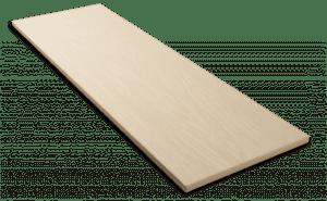 Фиброцементный сайдинг Decover / Дековер, размер 3600х190 мм, цвет Sandy (Ral 1015 св. слоновая кость)