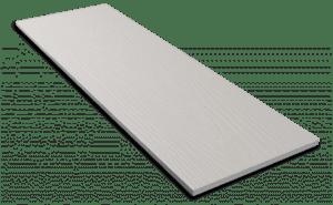 Фиброцементный сайдинг Decover / Дековер, размер 3600х190 мм, цвет Silver (Ral 7047 телегрей 4)