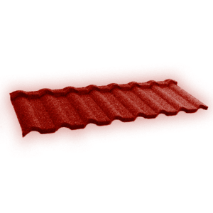 Композитная черепица Gerard Milano, цвет Spanish red