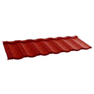 Композитная черепица Gerard Heritage, цвет Spanish red