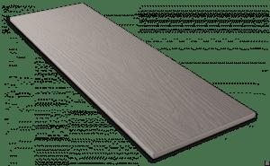 Фиброцементный сайдинг Decover / Дековер, размер 3600х190 мм, цвет Stone (Ral 7011 железно-серый)