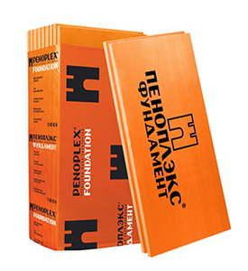 Утеплитель Пеноплэкс Фундамент / Penoplex 29-33 кг/м3, размеры 50х585х1185 мм, упаковка 0,243 м3 (7 плит)