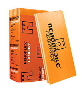 Утеплитель Пеноплэкс Комфорт / Penoplex 25-35 кг/м3, размеры 50х585х1185 мм, упаковка 0,243 м3 (7 плит)