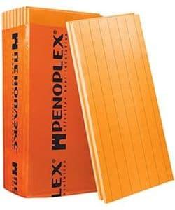 Утеплитель Пеноплэкс Стена / Penoplex 25-35 кг/м3, размеры 50х585х1185 мм, упаковка 0,277 м3 (7 плит)