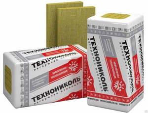 Утеплитель ТЕХНОРУФ В 60 Технониколь 165-195 кг/м3, размеры 40х600х1200 мм, упаковка 0,144 м3 (5 плит)