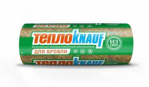 Утеплитель ТеплоКнауф / ТеплоKNAUF для кровли 14,5 кг/м3, размеры 50х1220х6148 мм, упаковка 0,75 м3 (2 мата)
