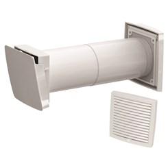 WIVE 100 приточный клапан (приточ. клапан с термостатом, фильтр, белая вент. решетка 380030+793320)